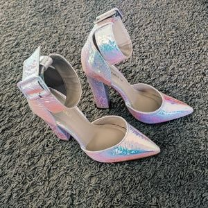 Iridescent Heels - Mermaid/Unicorn-esque